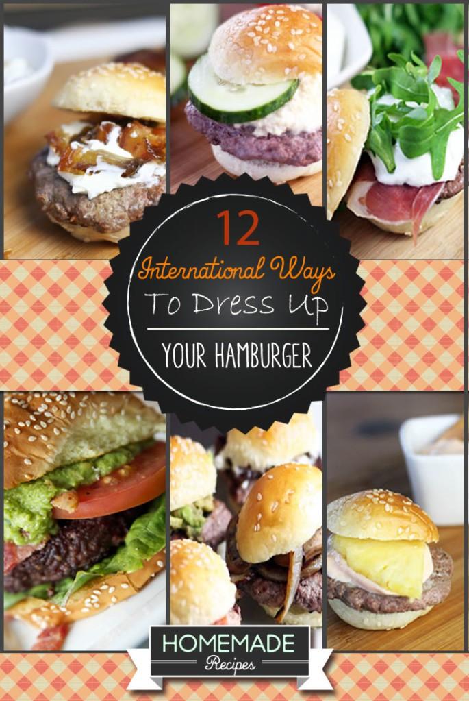 how to make hamburgers
