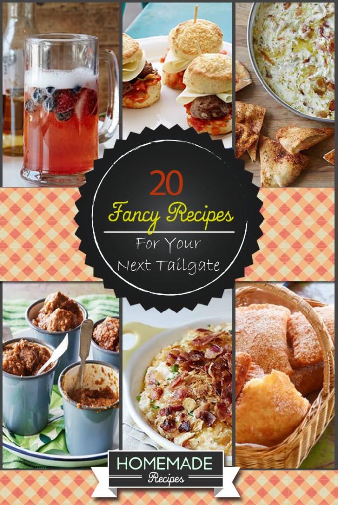 fancy recipes