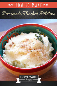 How To Make Homemade Mashed Potatoes