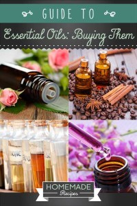 Guide to Essential Oils: Buying Them