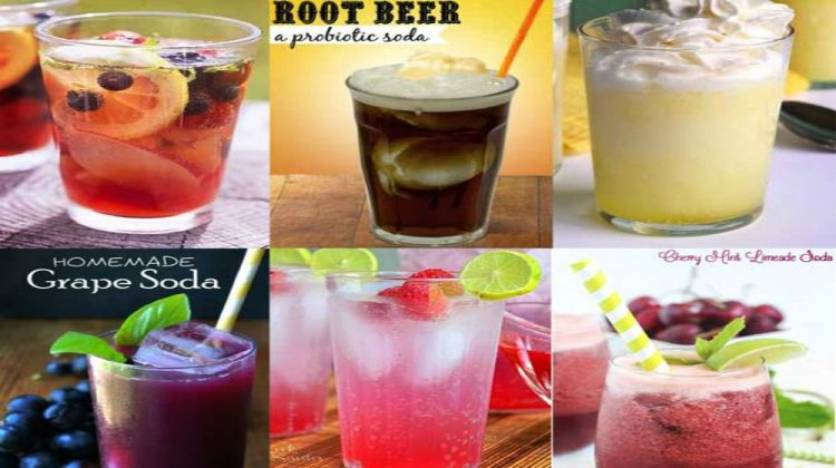 Feature | Refreshing Homemade Soda Recipes Perfect This Summer | natural soda recipe