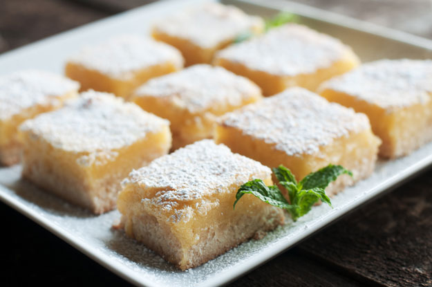 How To Make Lemon Bars from Scratch | Homemade Recipes http://homemaderecipes.com/cooking-101/how-to-be-a-master-chef-in-10-days-delicious-desserts