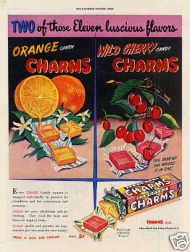 Fun Old Time Candy Products - Vintage Ads| Homemade Recipes http://homemaderecipes.com/course/appetizers-snacks/old-time-candy