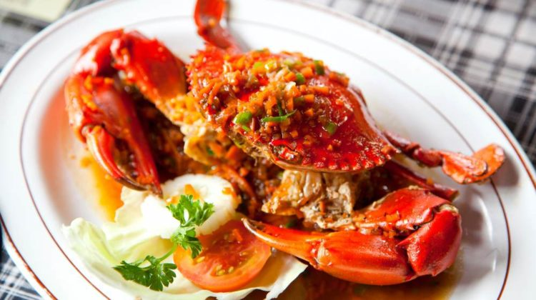 cooked crabs spicy sauce on white | Mouth-Watering Crab Recipes You Need To Try | featured