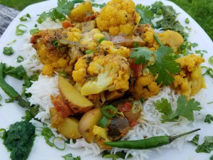Aloo Gobi Recipe | Cauliflower and Potato Curry