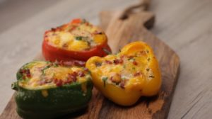 Start Your Morning With These Breakfast Stuffed Peppers