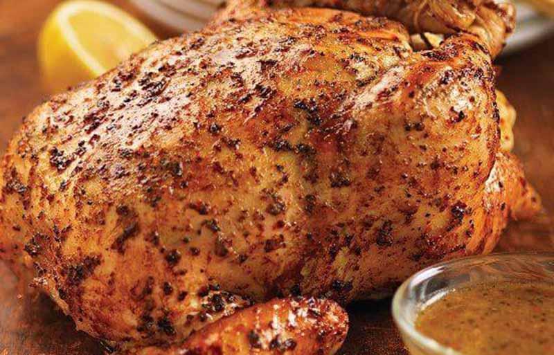 whole roasted chicken recipe | christmas dinner ideas