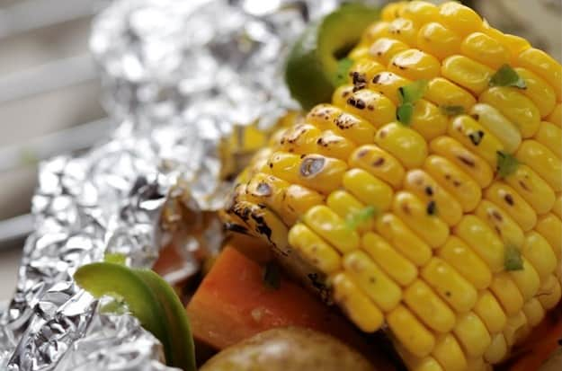 Potato, Corn & Carrot Foil Packets | Easy Vegetable Recipes For Healthy Lifestyle