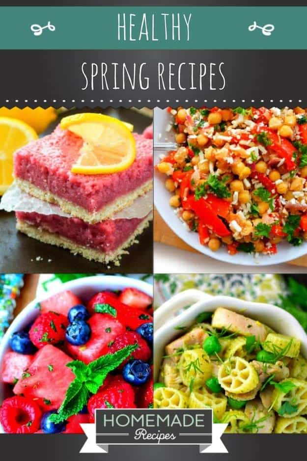 Healthy Spring Recipes For Kids & Adults