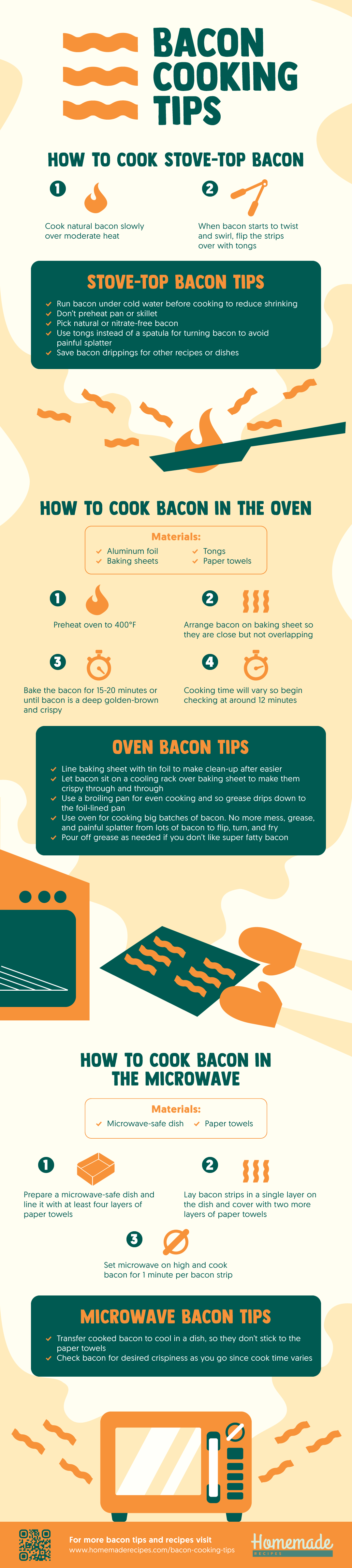 Bacon Cooking 101: Bacon Cooking Tips For The Perfect Crisp homemaderecipes.com/bacon-cooking-tips