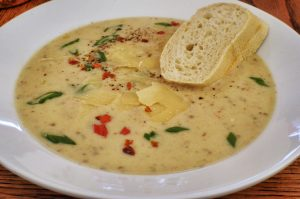 Homemade Soups- Creamed Peanut & Creamed Potato Soup