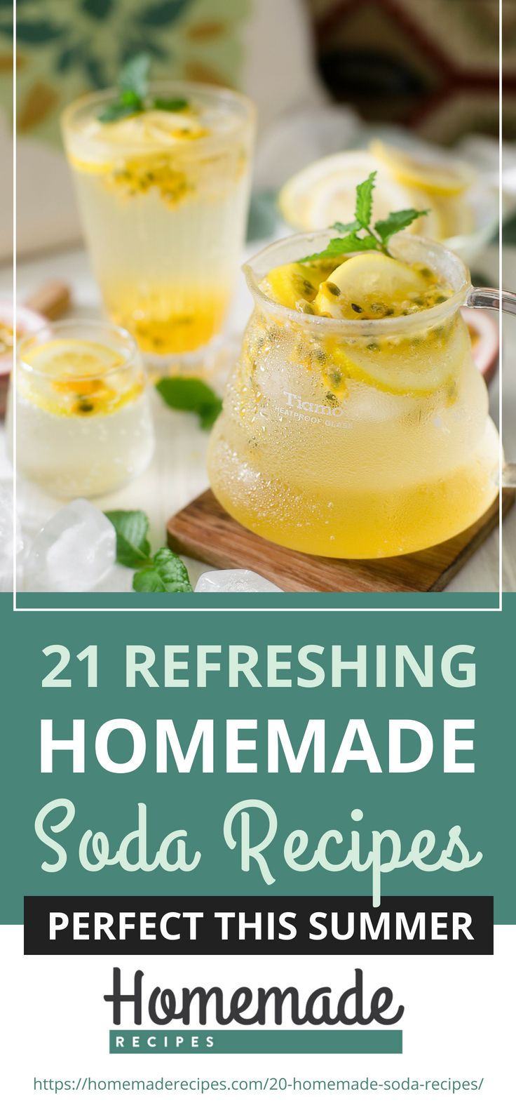 Pinterest Placard | 21 Refreshing Homemade Soda Recipes Perfect This Summer