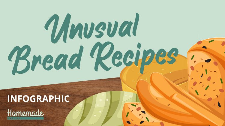 feature image | 10 Unusual Bread Recipes You Have To Try [INFOGRAPHIC]