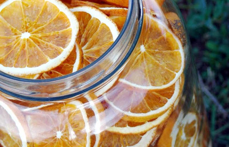 dehydrated orange slices | dehydrator recipes