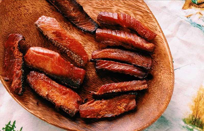 salmon jerky | dehydrator recipes