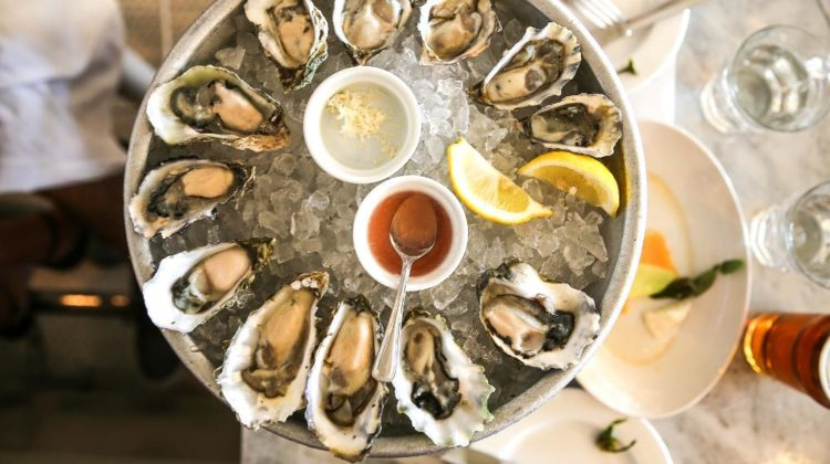 dozen oysters on half shell horseradish | Easy Romantic Dinner Ideas This Valentine's Day | featured