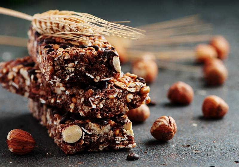 cereal bar nuts chocolate selective focus | keto protein bars reddit
