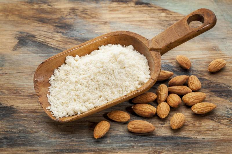 almond-flour-high-protein-low-carbohydrates | flour